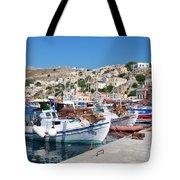 Symi Island Greece Tote Bag