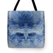 Symmetrical Ice 2 Tote Bag