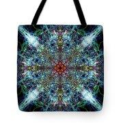 Symmetrical Silk Strands Tote Bag