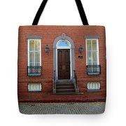 Symmetry In Brick Tote Bag