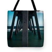 Symmetry Under The Pier  Tote Bag