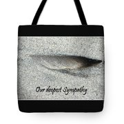 Sympathy Feather Tote Bag