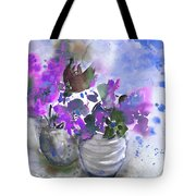 Symphony In Blue And Purple Tote Bag