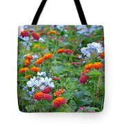 Symphony Of Colors Tote Bag