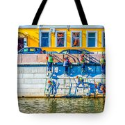 Symphony Of Work Tote Bag