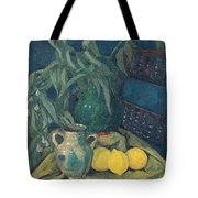 Synchrony In Green Tote Bag