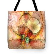 Syncopated Summer Passion Tote Bag