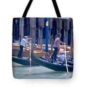 Syncronized Gondoliers Tote Bag