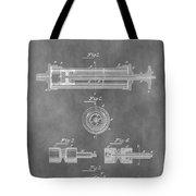 Syringe Patent Design Tote Bag