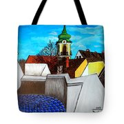 Szentendre - View From The Castlehill Tote Bag