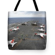 T-45c Goshawk Training Aircraft Tote Bag