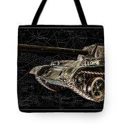 T-54 Soviet Tank Bk-bg Tote Bag