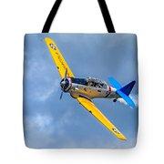 T-6 Texan Flying Tote Bag