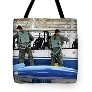 T-6 Texan Pilots Of The Hellenic Air Tote Bag