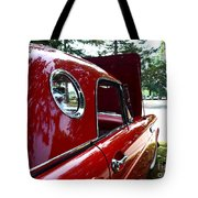 Vintage Car - Opera Window T-bird - Luther Fine Art Tote Bag