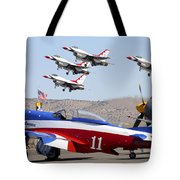 Miss America And The T-birds Tote Bag