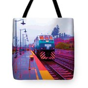 T Is For Train Tote Bag
