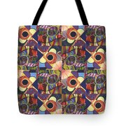 T J O D Tile Variations 10 Tote Bag