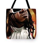 T-pain Artwork Tote Bag