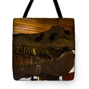 T Rex Head Tote Bag