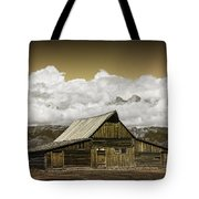 T.a. Moulton Barn In The Grand Tetons Tote Bag