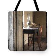 Table At Olsons 2 Tote Bag