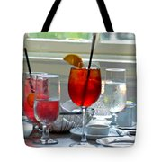 Table By The Window Tote Bag