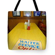 Table For 6 Tote Bag