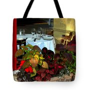 Table In The Window Tote Bag