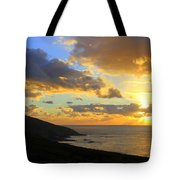 Table Mountain South Africa Sunset Tote Bag