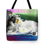 Table Queen Tote Bag