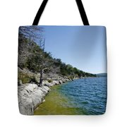 Table Rock Lake Shoreline Tote Bag