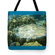 Table Top Coral Tote Bag
