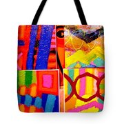 Painting Collage I Tote Bag
