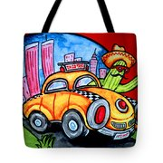 Taco Taxi Tote Bag