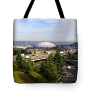 Tacoma Dome And Auto Museum Tote Bag