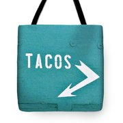 Tacos Tote Bag by Art Block Collections