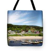 Tadoussac Quebec Tote Bag