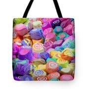 Taffy Candyland Tote Bag