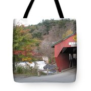 Taftsville Covered Bridge Vermont Tote Bag