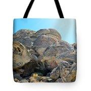 Tagged Rocks Tote Bag