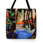 Tahiti Window Tote Bag
