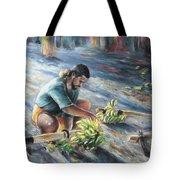 Tahitian Banana Carryer Tote Bag