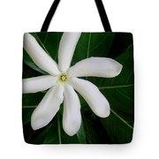 Tahitian Gardenia Tote Bag