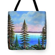 Tahoe Pines Tote Bag