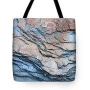 Tahoe Rock Formation Tote Bag by Carol Groenen