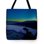 Tahoe Sunrise Tote Bag