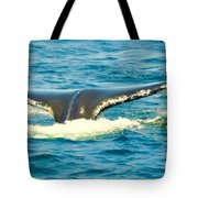Tail From The Deep Tote Bag