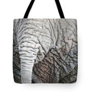 Tail Of African Elephant Tote Bag