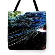 Tail Of Peacock Tote Bag